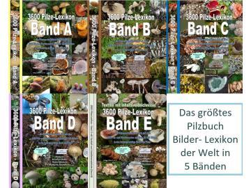 3600 Pilze - Pilzlexikon - Auflage 9