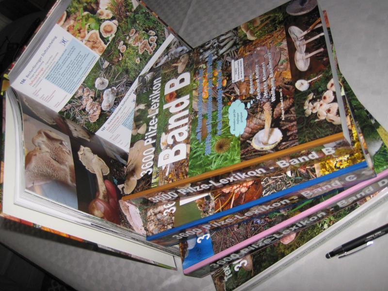 3600 Pilze - Pilzlexikon - Auflage 9 (10)
