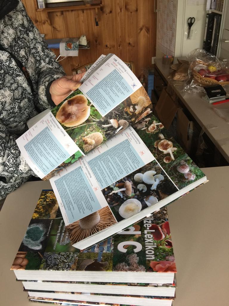3600 Pilze - Pilzlexikon - Auflage Okt. 20