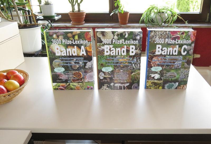 3600 Pilze - Pilzlexikon  3-Band- Auflage 1 - Sonderangebot