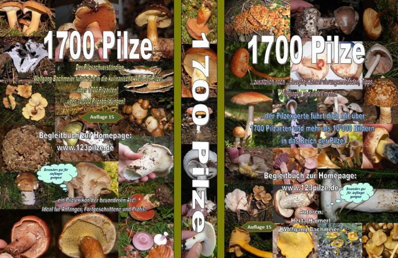 1700 Pilze Buch - Auflage 17