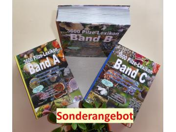 3600 Pilz - Pilzlexikon  3-Band- Auflage 1 - Sonderangebot